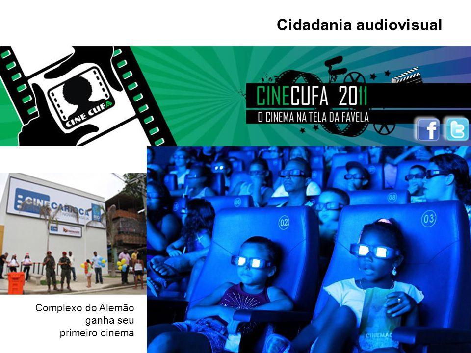 Cidadania audiovisual Complexo do Alemão ganha seu primeiro cinema