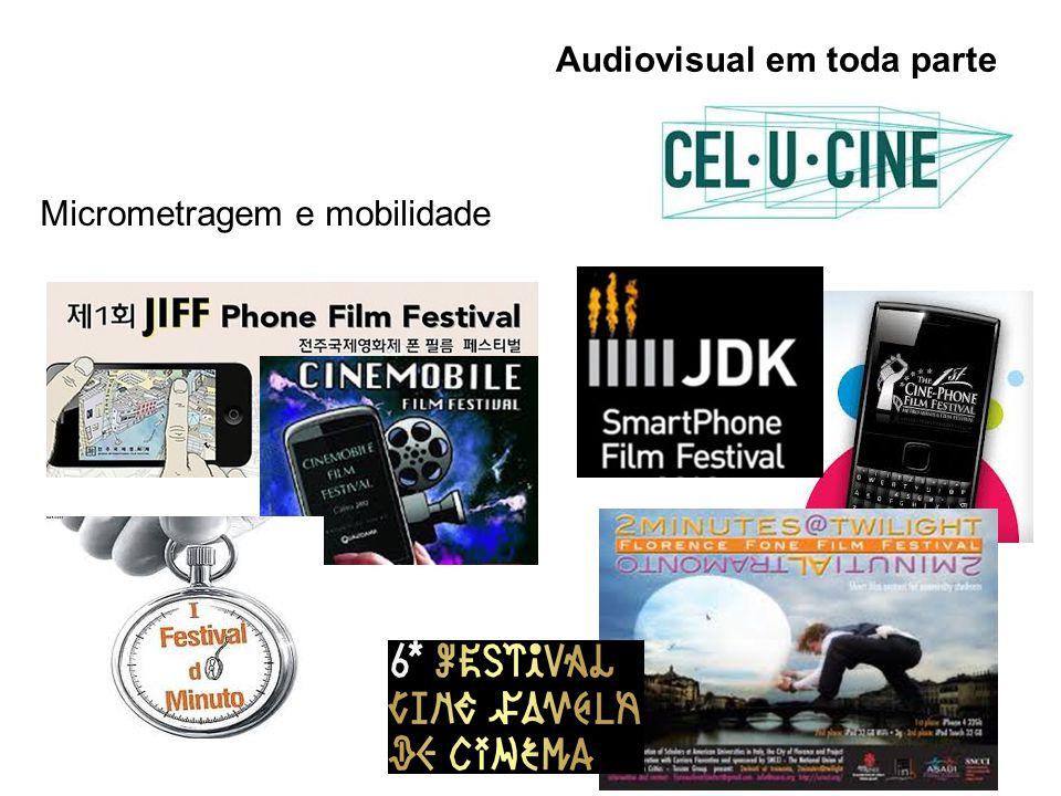 Audiovisual em toda parte Micrometragem e mobilidade