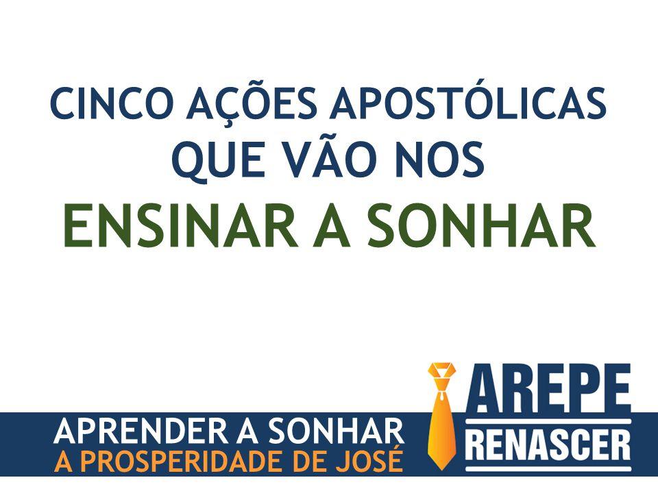 APRENDER A SONHAR A PROSPERIDADE DE JOSÉ CINCO AÇÕES APOSTÓLICAS QUE VÃO NOS ENSINAR A SONHAR