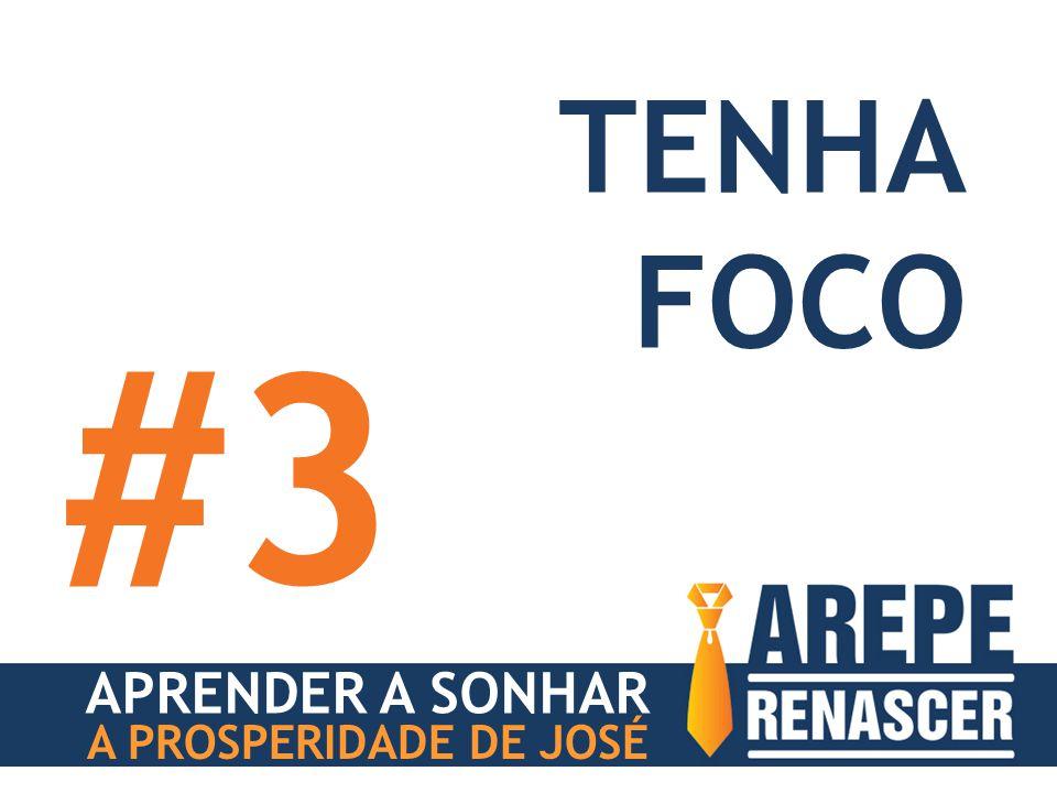 APRENDER A SONHAR A PROSPERIDADE DE JOSÉ TENHA FOCO #3