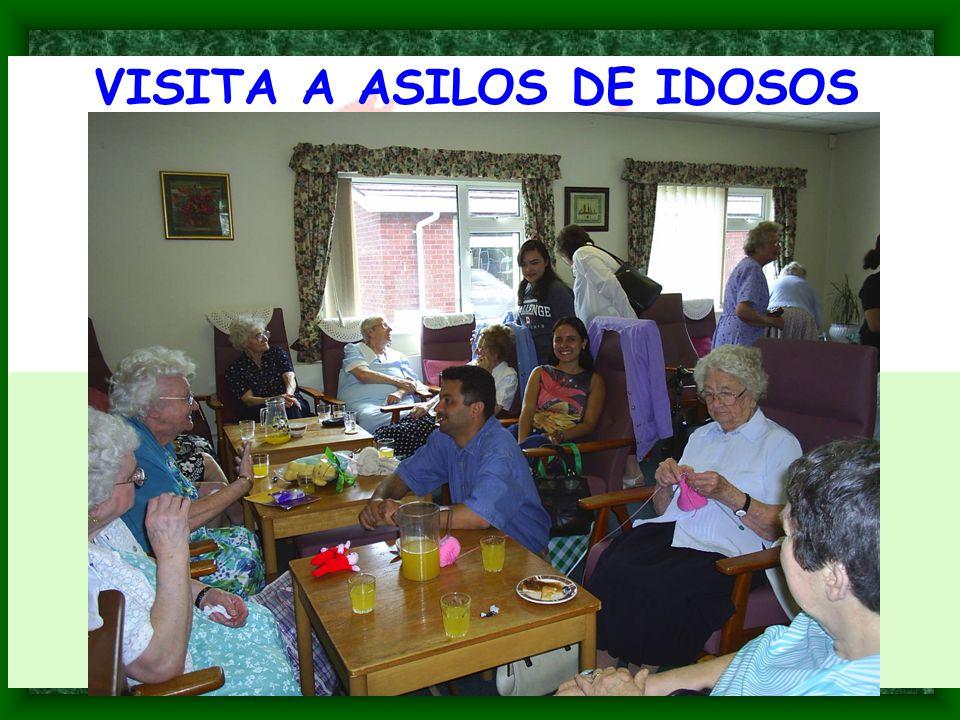 VISITA A ASILOS DE IDOSOS