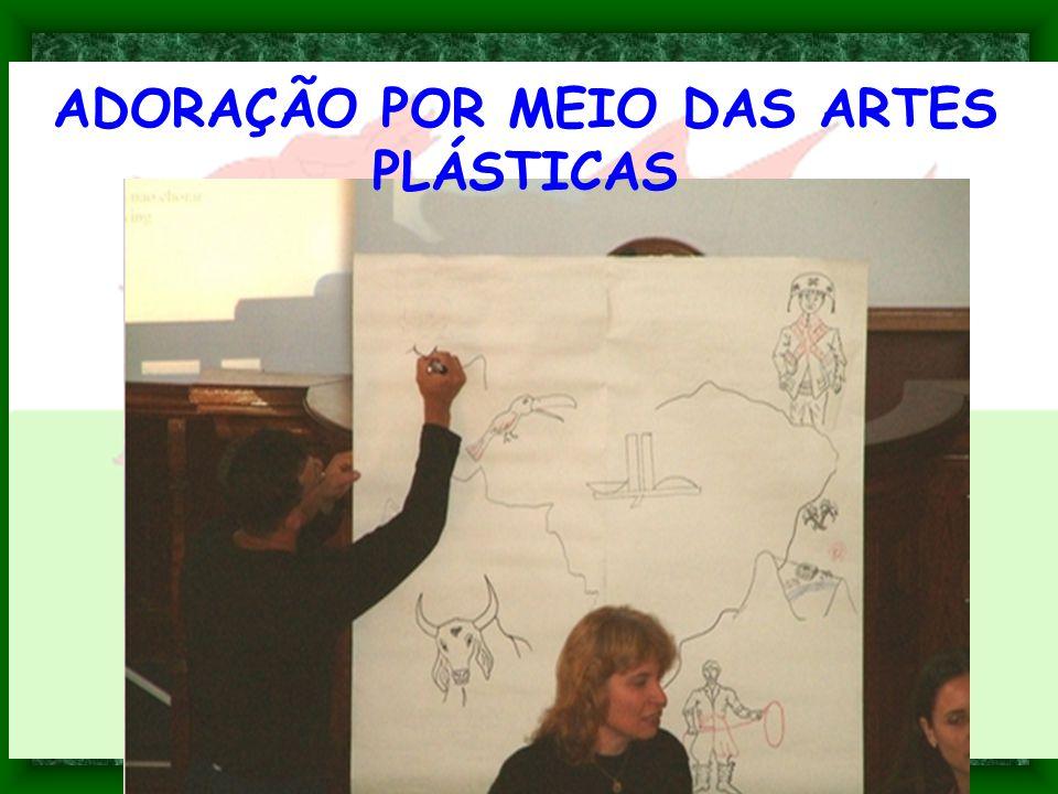 ADORAÇÃO POR MEIO DAS ARTES PLÁSTICAS