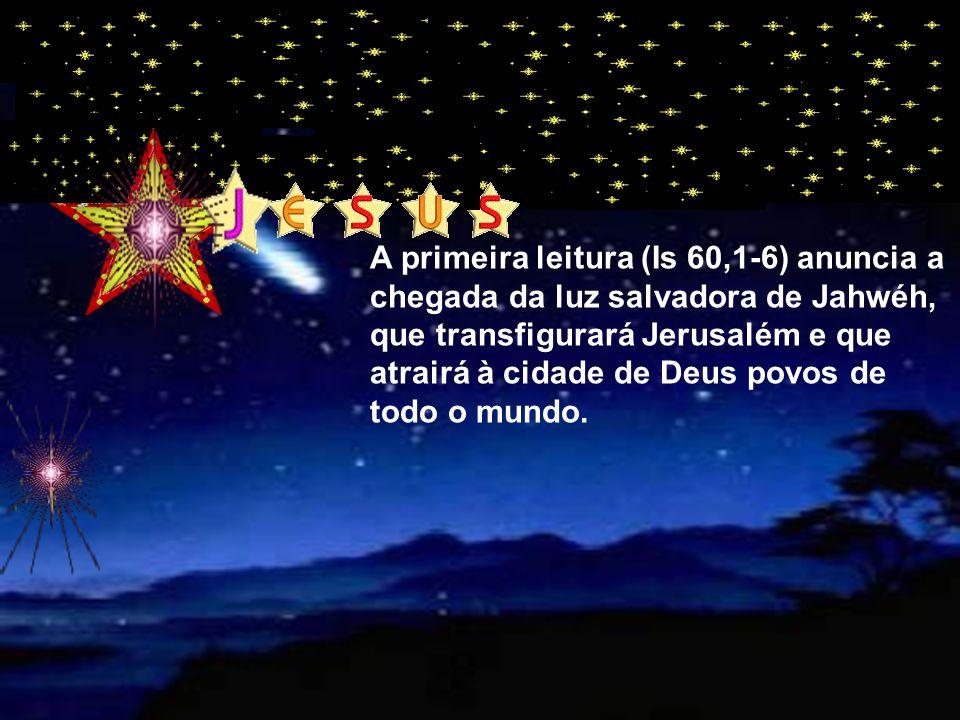 """""""luz"""" """"luz"""" A liturgia deste domingo celebra Epifania de Jesus( a manifestação de sua Divindade a todos os homens) Ele é uma """"luz"""" que se acende na no"""