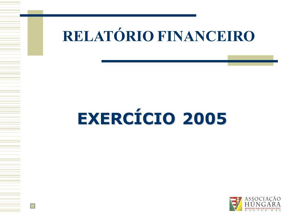 RELATÓRIO FINANCEIRO EXERCÍCIO 2005