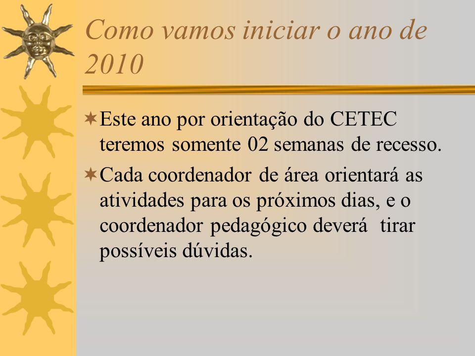 Dia 04 de fevereiro: 1.Recepção de alunos novos ( 8horas, 13horas e 19 horas ) pela direção e coordenação ( professores serão apresentados aos alunos