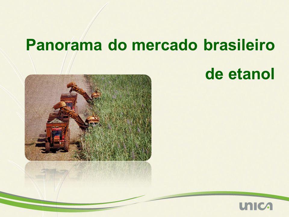 Panorama do mercado brasileiro de etanol
