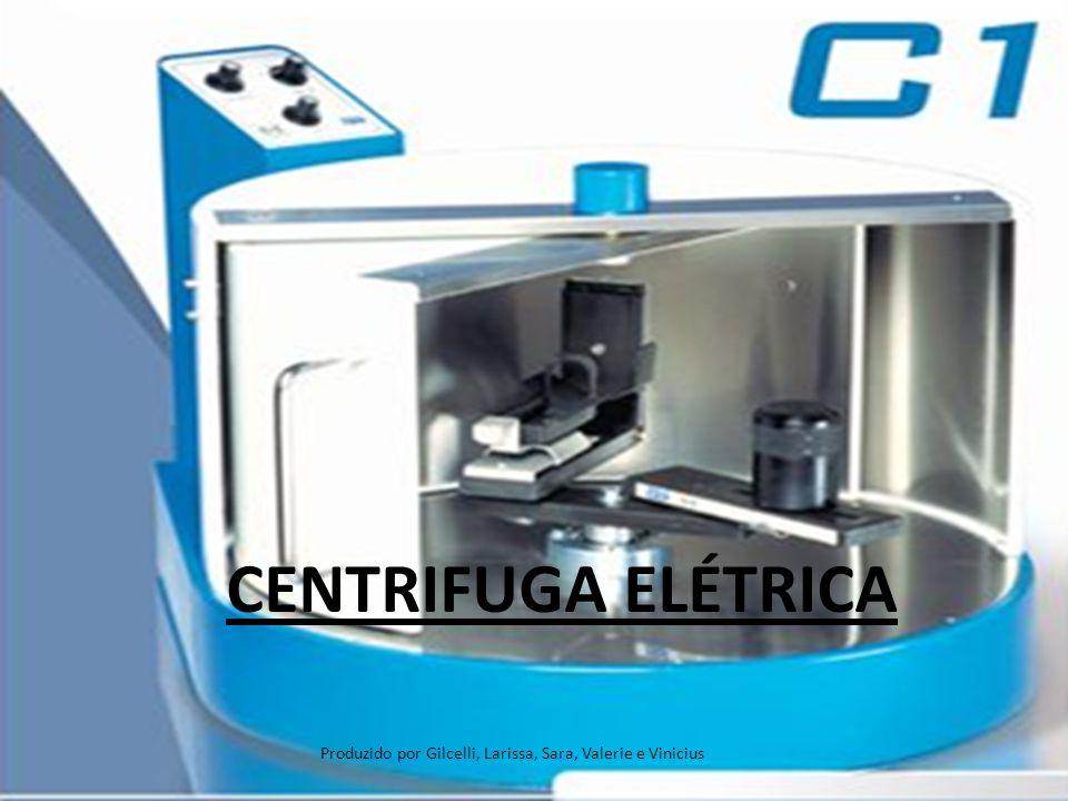 Apresentação Apesar dos avanços tecnológicos a velha centrifuga de mola continua a mesma de 100 anos atrás, porem as novas centrifugas foram projetadas para proporcionar eficiência e segurança ao profissional.