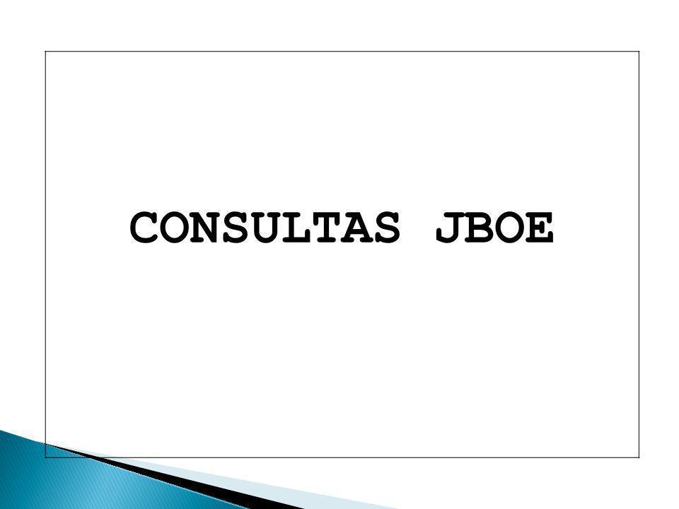 CONSULTAS JBOE