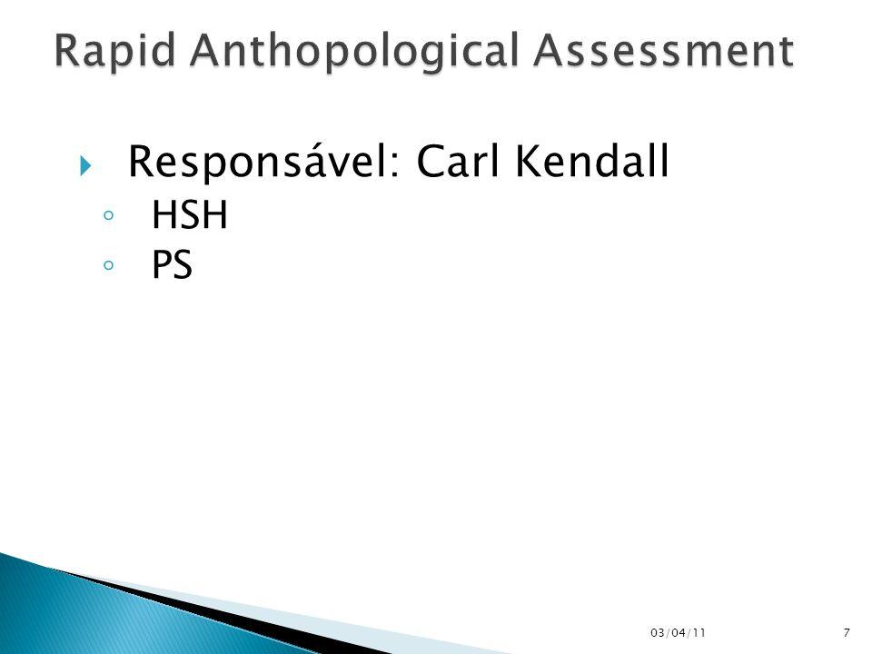  Responsável: Carl Kendall ◦ HSH ◦ PS 03/04/117