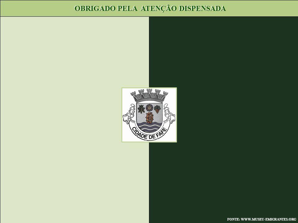OBRIGADO PELA ATENÇÃO DISPENSADA FONTE: WWW.MUSEU-EMIGRANTES.ORG