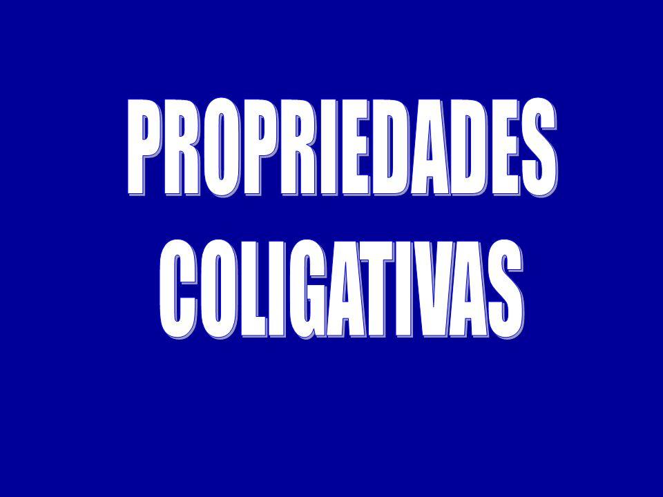 03) (Covest-2006) As propriedades de um solvente podem ser alteradas pela adição de solutos.