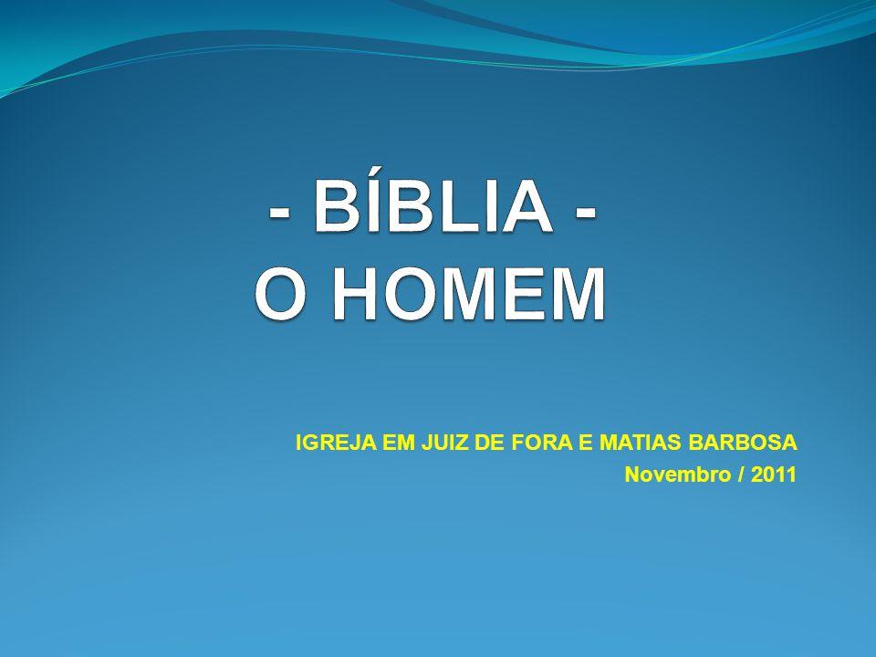 IGREJA EM JUIZ DE FORA E MATIAS BARBOSA Novembro / 2011