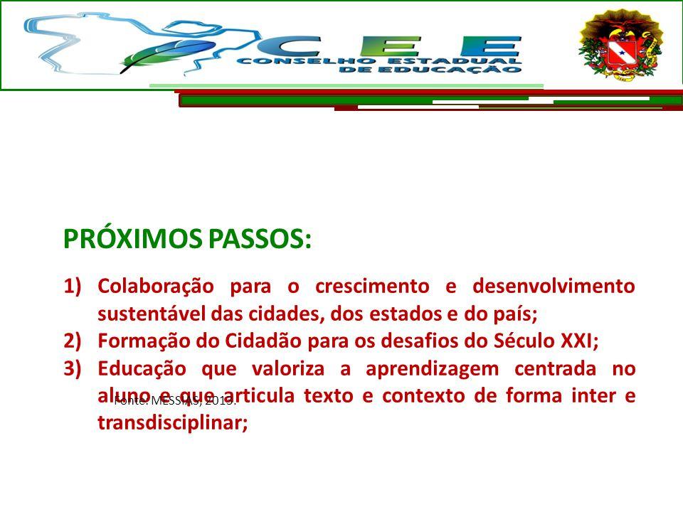 1)Colaboração para o crescimento e desenvolvimento sustentável das cidades, dos estados e do país; 2)Formação do Cidadão para os desafios do Século XX