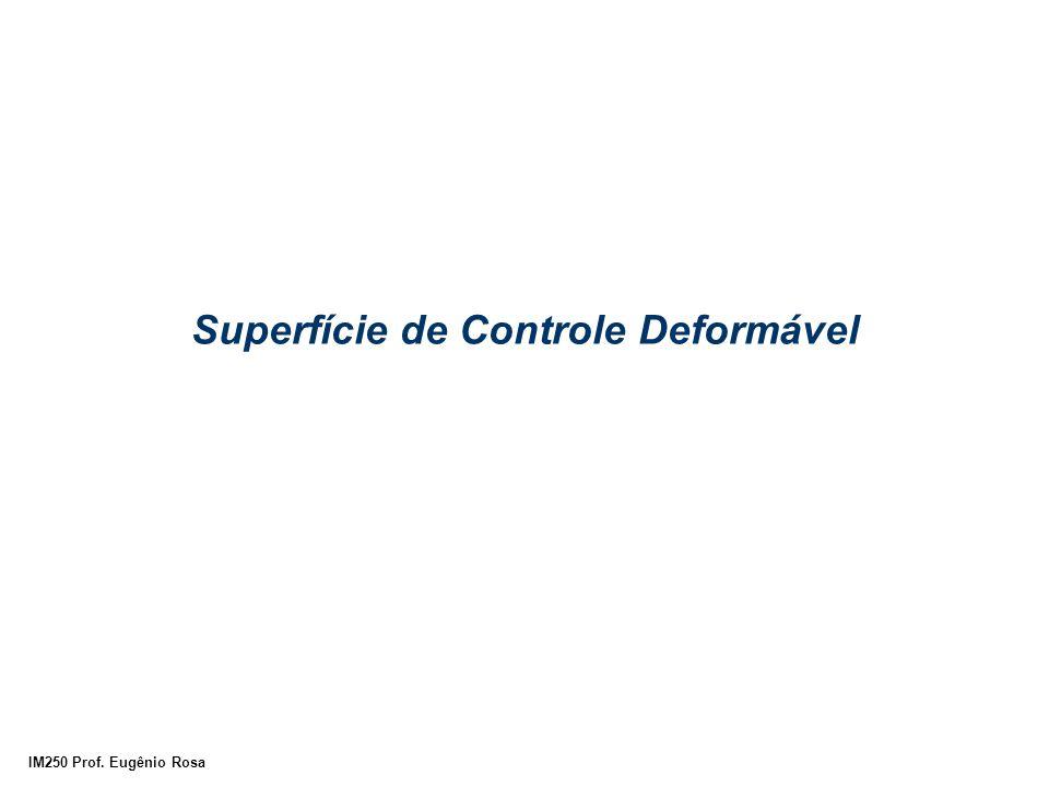 IM250 Prof. Eugênio Rosa Superfície de Controle Deformável