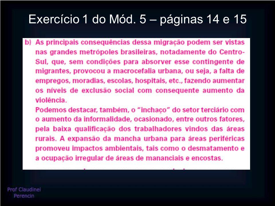 Exercício 1 do Mód. 5 – páginas 14 e 15