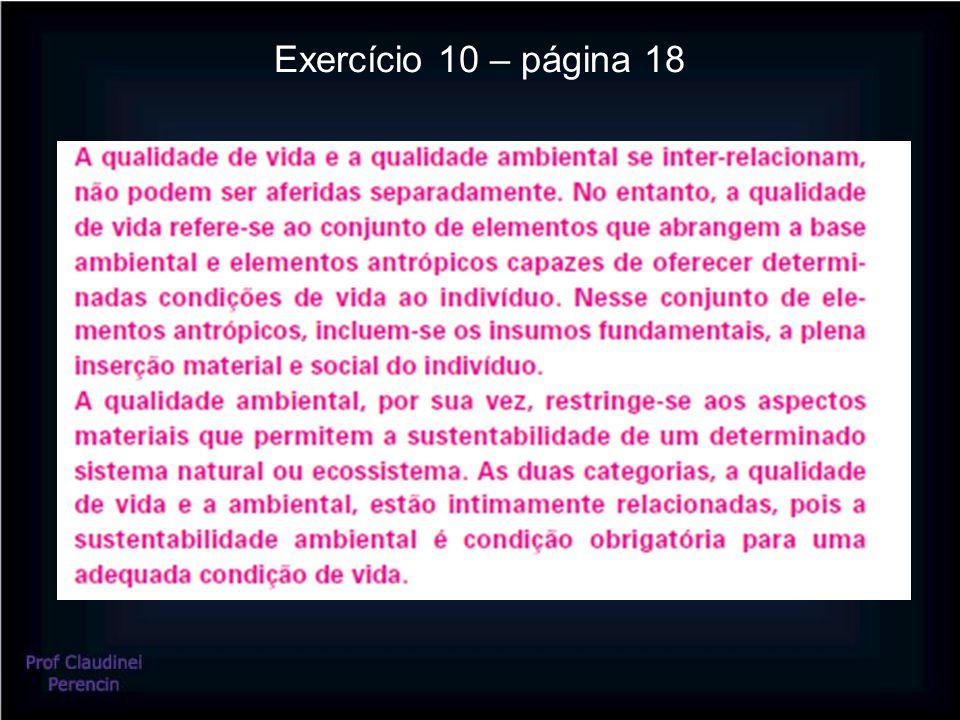 Exercício 10 – página 18