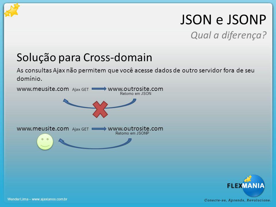 JSON e JSONP Qual a diferença.