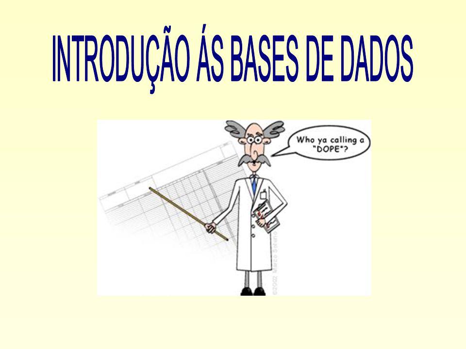 Introdução ás Bases de Dados Mais recentemente foi criado o Modelo Relacional.