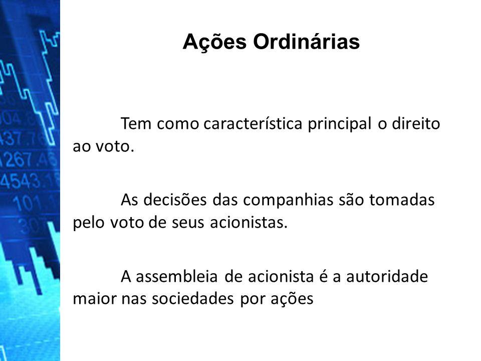 Tem como característica principal o direito ao voto.