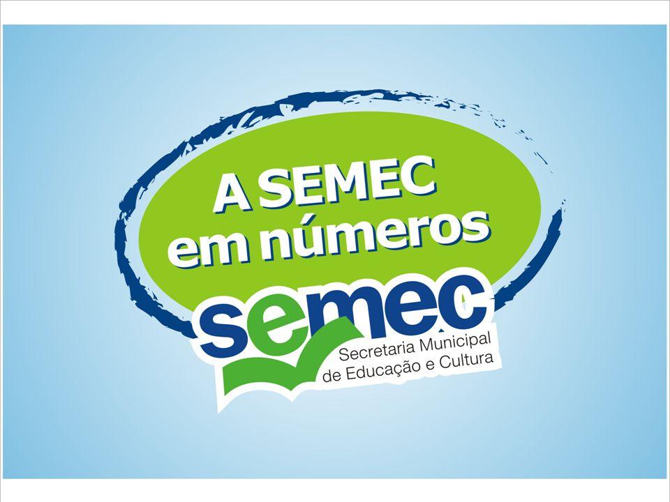 Desempenho de nossos alunos na Prova Brasil (MEC/INEP) 2006: 174,94 - Média 4ª série (Língua Portuguesa) 172,91 - Média Nacional 180,46 - Média 4ª série (Matemática) 179,98 - Média Nacional 227,11 - Média 8ª série (Língua Portuguesa) 222,63 - Média Nacional 244,84 - Média 8ª série (Matemática) 237,46 - Média Nacional - Premiação de 41 alunos, 1 professor e 3 escolas, todos da Rede Municipal de Ensino, em eventos nacionais, estaduais e municipais (extra-SEMEC)