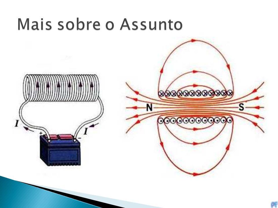 O que é um Solenoide? Um solenoide é mais uma forma de eletroímã. Ele é um tubo eletromagnético geralmente usado para mover linearmente um pedaço de m