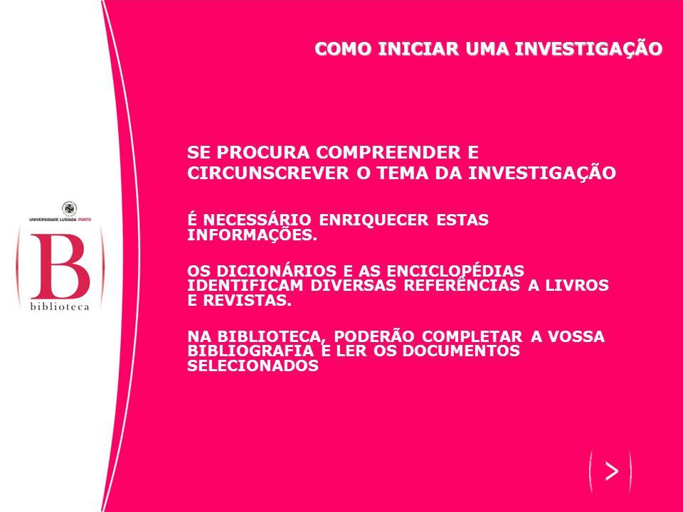 SE PROCURA COMPREENDER E CIRCUNSCREVER O TEMA DA INVESTIGAÇÃO ESTA EXPLORAÇÃO DO TEMA ´DE INVESTIGAÇÃO PERMITE: - CONHECER O CONTEXTO DO TEMA DE INVESTIGAÇÃO - CIRCUNSCREVER O TEMA DE INVESTIGAÇÃO ESTA EXPLORAÇÃO CAPACITARÁ PARA: - A IDENTIFICAÇÃO DAS QUESTÕES FULCRAIS ( GRANDES TENDÊNCIAS, NOVIDADES E INOVAÇÕES, RUPTURAS E OPOSIÇÕES ) - A IDENTIFICAÇÃO DOS ASPECTOS SECUNDÁRIOS ( VARIANTES ) PARA INTRODUZIR HIERARQUIAS E NUANCES COMO INICIAR UMA INVESTIGAÇÃO