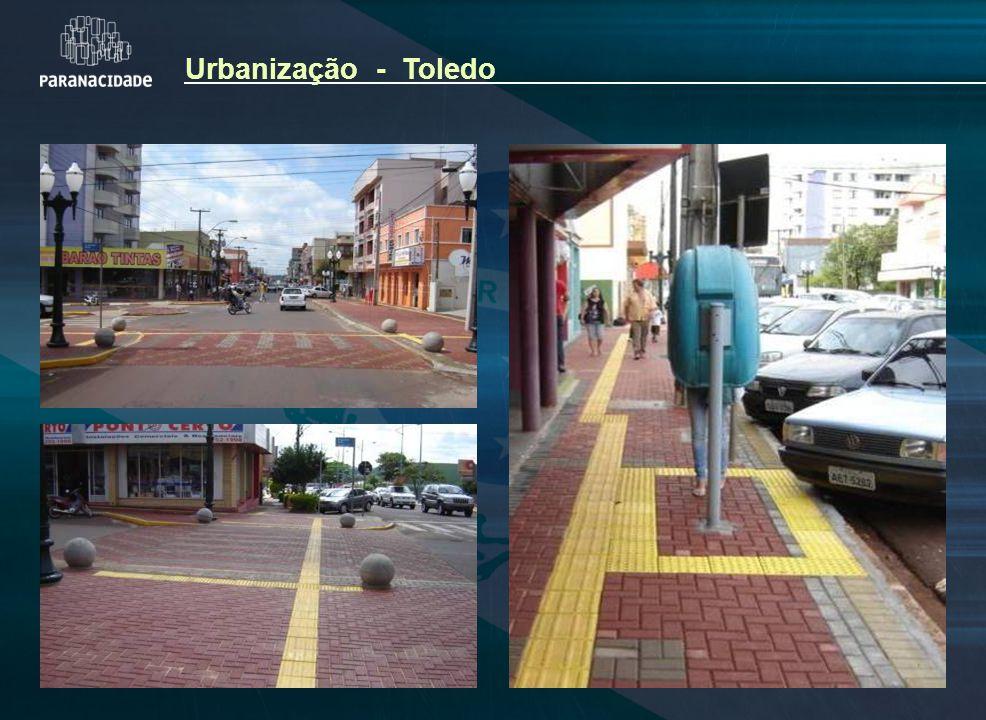 Urbanização - Toledo