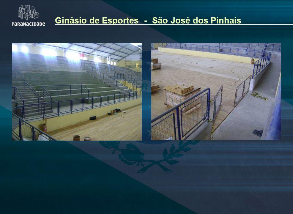 Ginásio de Esportes - São José dos Pinhais
