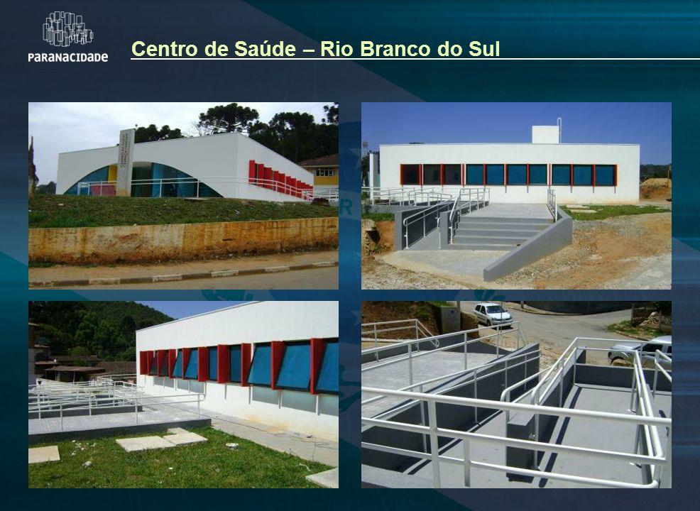 Centro de Saúde – Rio Branco do Sul