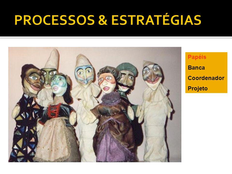 Papéis Banca Coordenador Projeto