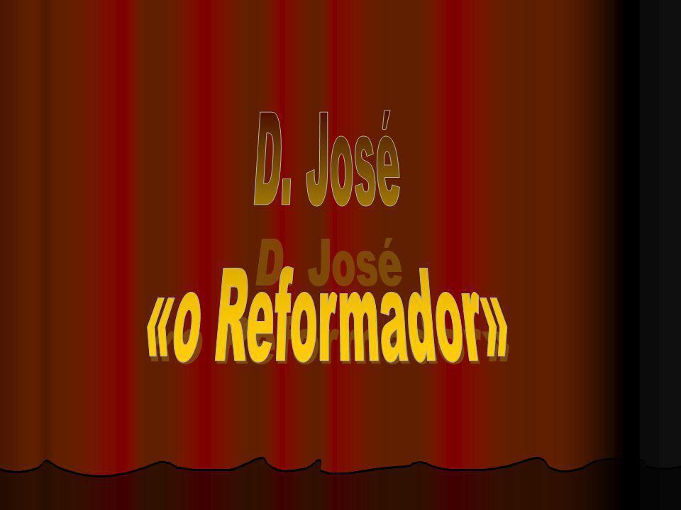 D.José era filho de D. João V a quem sucedeu.