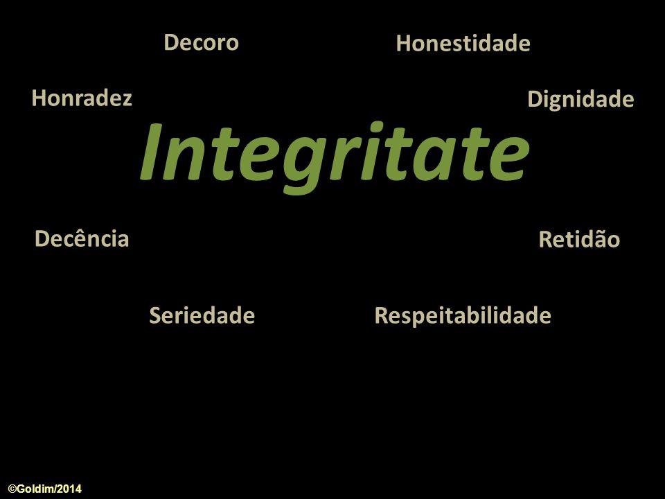 1.Integridade 2. Adesão ao marco regulatório 3. Método de Pesquisa 4.
