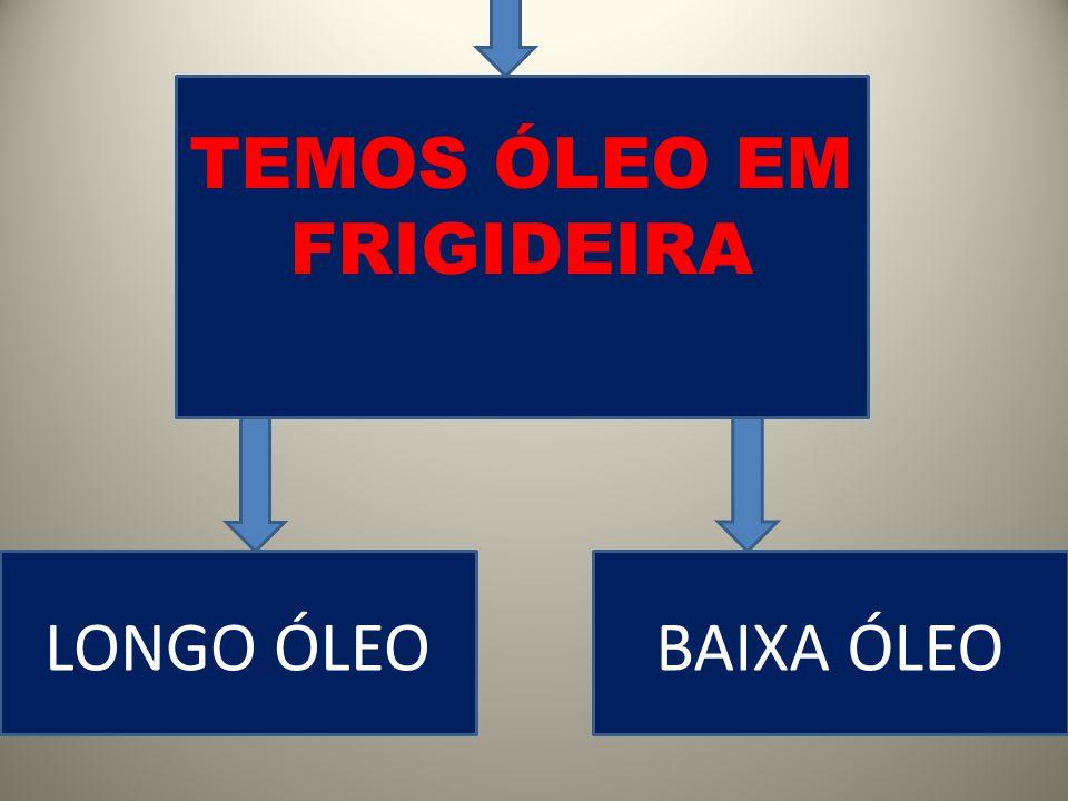TEMOS ÓLEO EM FRIGIDEIRA LONGO ÓLEOBAIXA ÓLEO