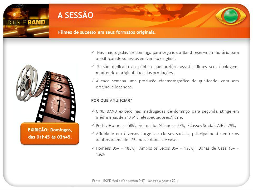band.com.br/cineband 22.236 13.441 No site do Cine Band o internauta acompanha a programação das próximas sessões e as ultimas noticias do cinema no Brasil e no Mundo.