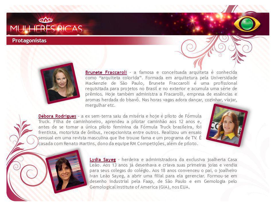 O Portal BAND.COM.BR oferece ao patrocinador do Mulheres Ricas online a oportunidade de inserir sua marca, com formatos comerciais online, no site do programa e no Canal de Entretenimento.