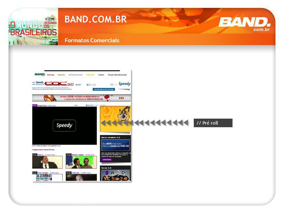 Formatos Comerciais BAND.COM.BR