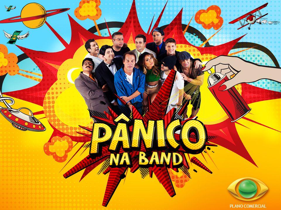 O programa PÂNICO agora todo domingo na BAND.
