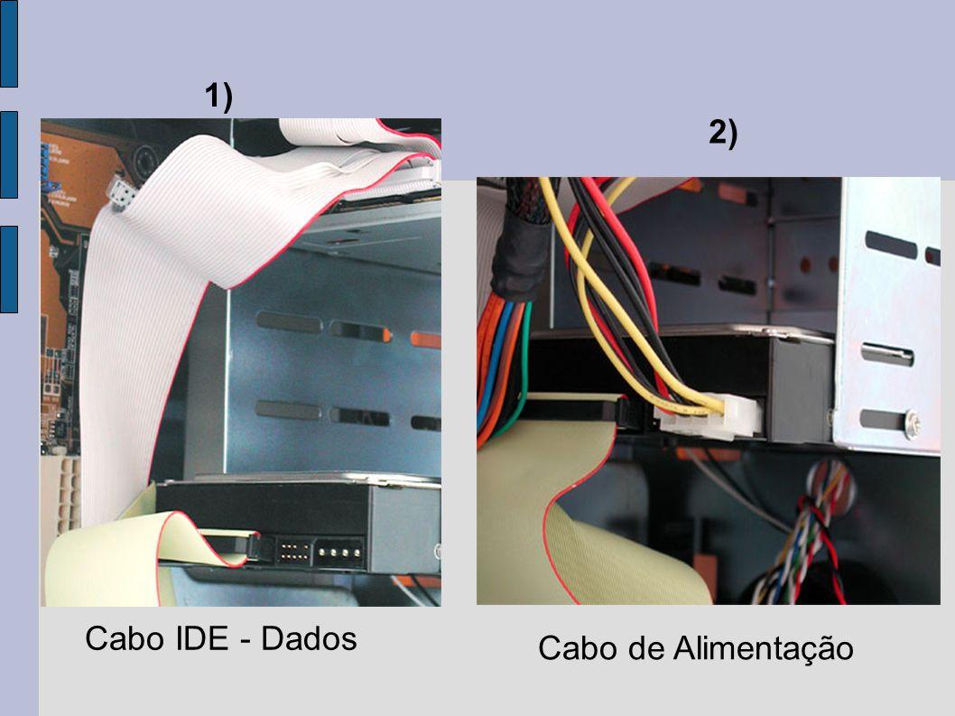 Cabo IDE - Dados Cabo de Alimentação 1) 2)