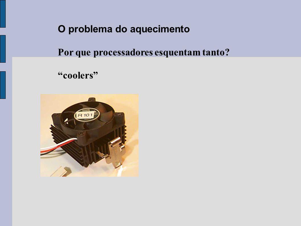 """O problema do aquecimento Por que processadores esquentam tanto? """"coolers"""""""