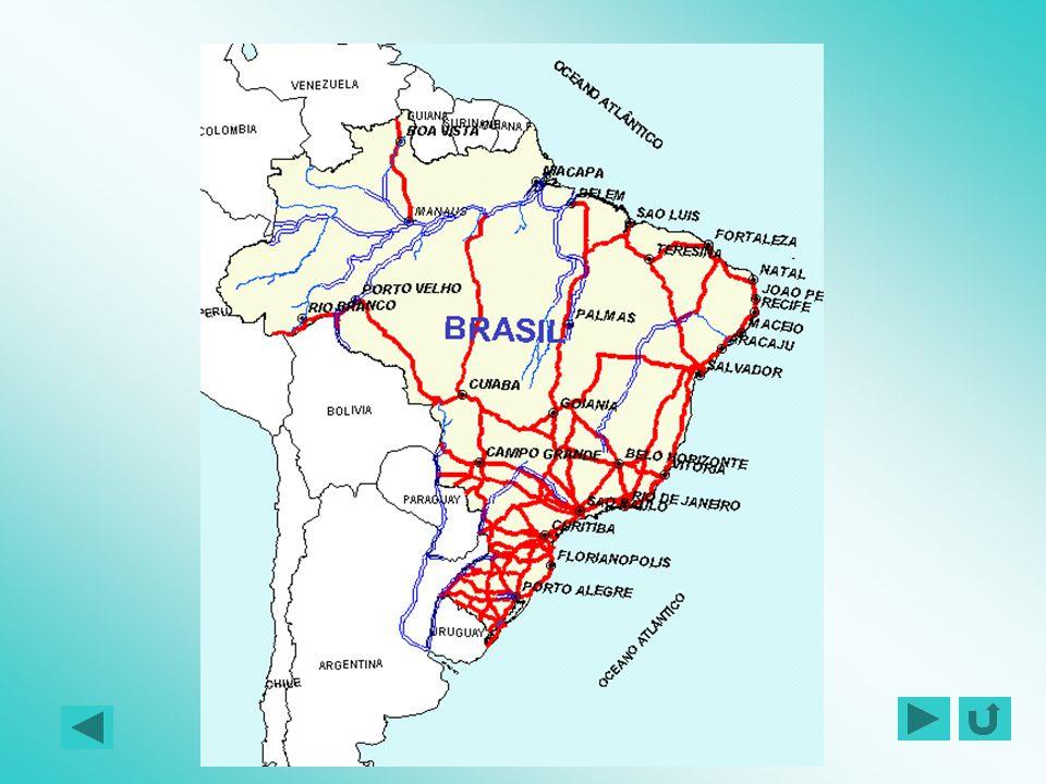 REDE RODOVIÁRIA BÁSICA DO MERCOSUL BRASIL