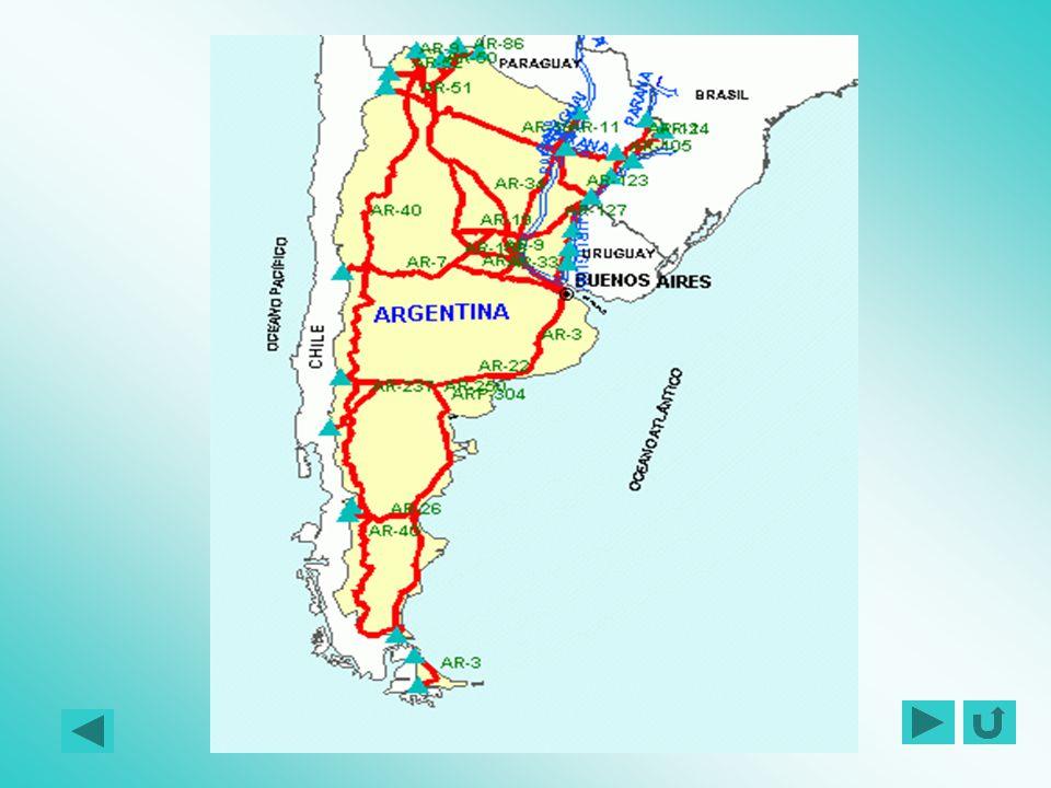 REDE RODOVIÁRIA BÁSICA DO MERCOSUL ARGENTINA