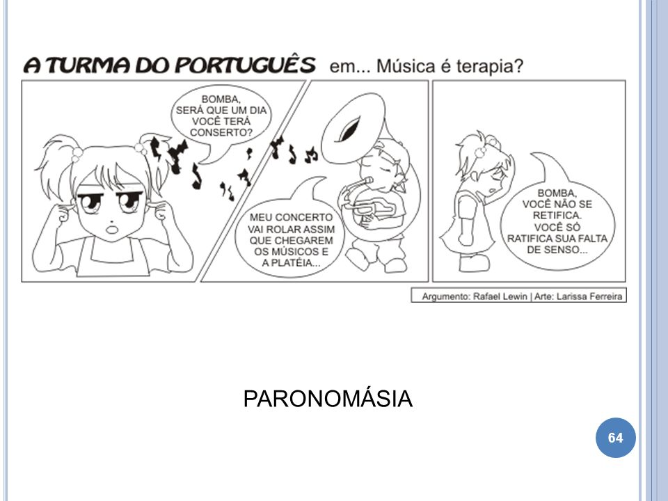 64 PARONOMÁSIA