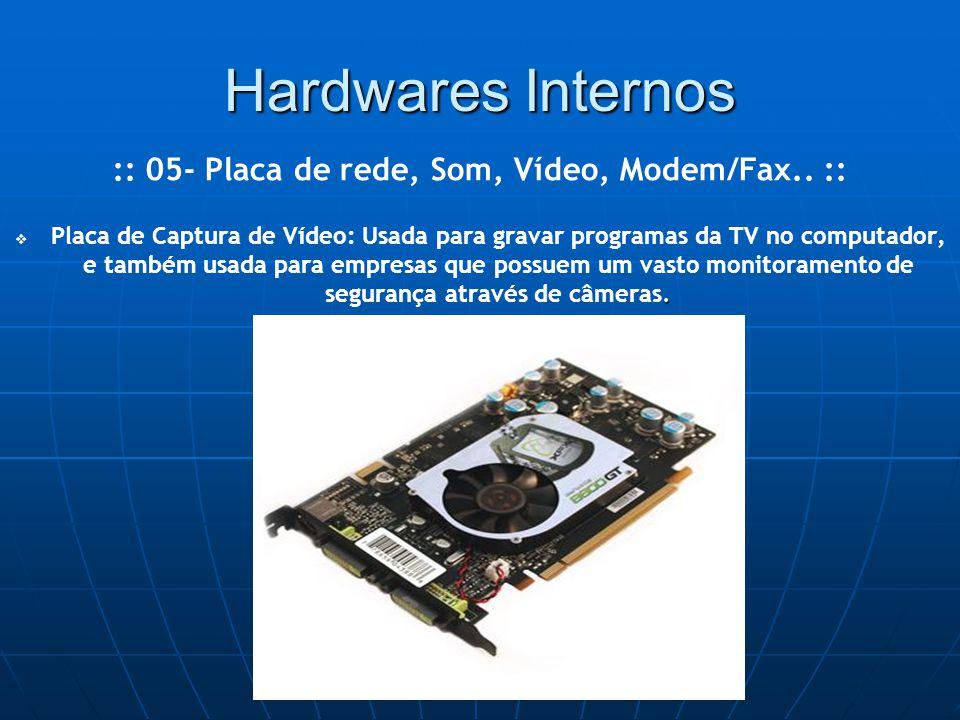 Hardwares Internos .