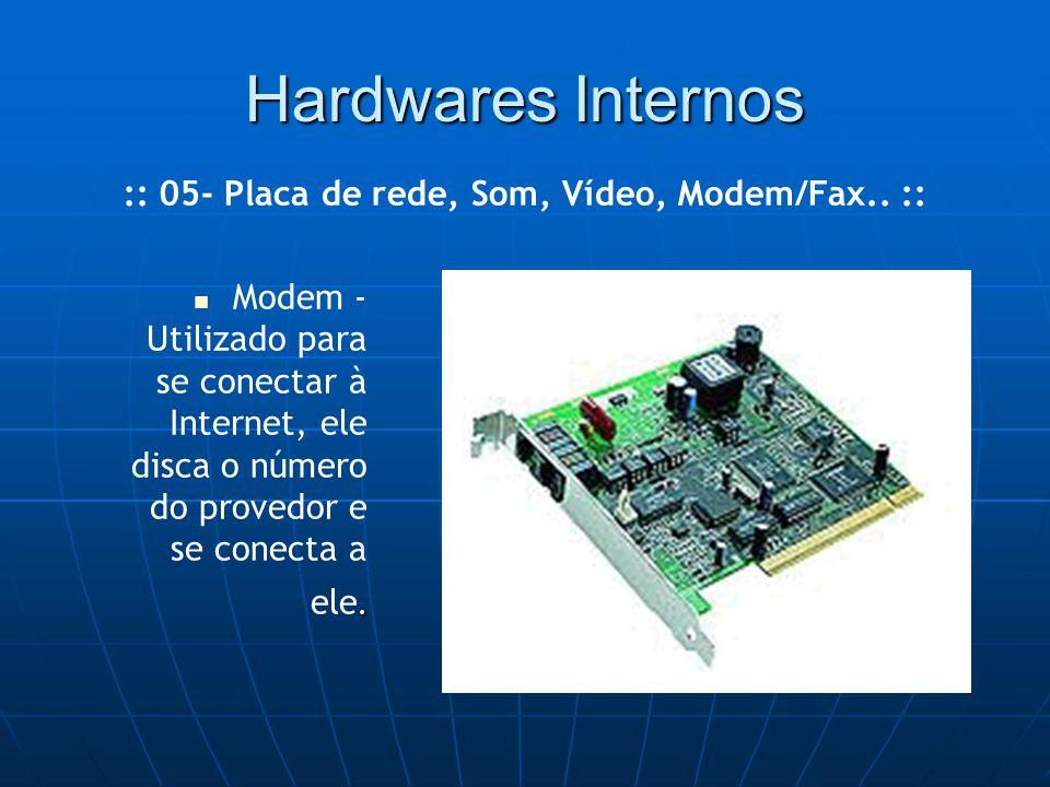 Hardwares Internos.