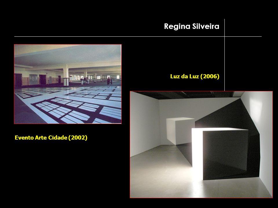 Evento Arte Cidade (2002) Luz da Luz (2006) Regina Silveira