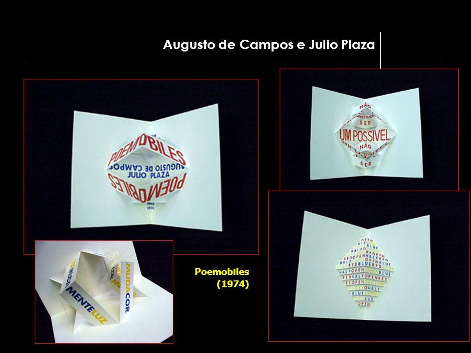 Augusto de Campos e Julio Plaza Poemobiles (1974)