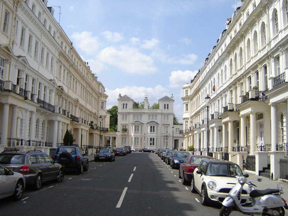 Arquitetura vitoriana em Notting Hill