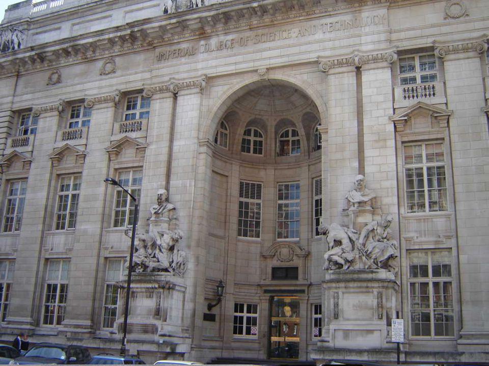 Outras amostras da grandiosidade da arquitetura londrina: Imperial College of Science and Technology , Victoria and Albert Museum e o edifício das Lojas Harrods