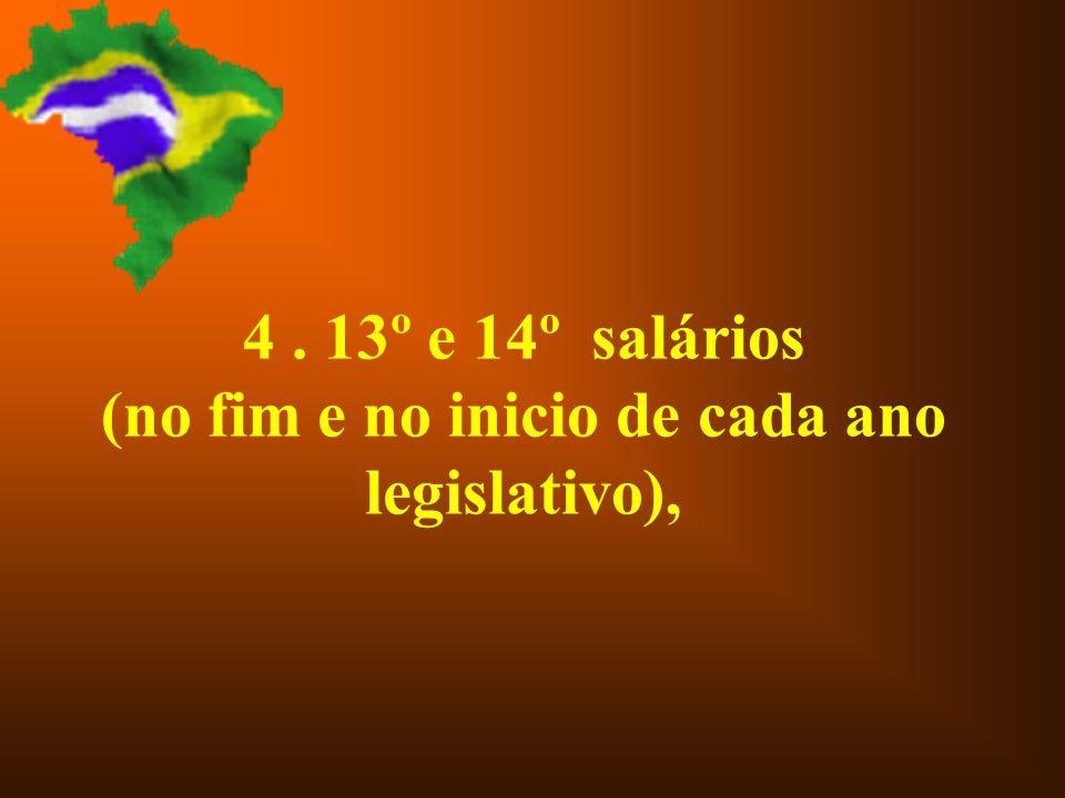 3. Transporte: 4 passagens aéreas de ida e volta a Brasília por mês,