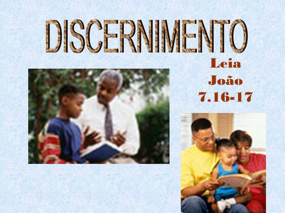 Leia João 7.16-17